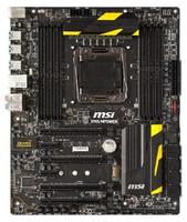 Материнская плата Б/У MSI X99S MPOWER - LGA2011v3 ATX USB3.0 SATA3 PCI-E NVME M.2 SSD DDR4 4-канальный режим