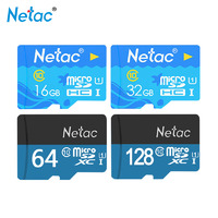 Карты памяти  Netac - 16/32/64ГБ, micro SD,10 уровня