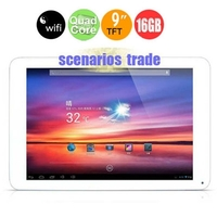 "Cube U39GT Quad-Core Tablet PC w/ Rockchip RK3188 9"" PLS 2GB+16GB Android 4.2 Dual Cameras Bluetooth HDMI OTG WiFi - Silvery"