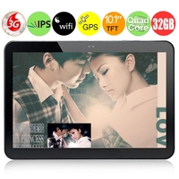 "PIPO Max-M9Pro четыре ядра 3G Tablet PC ж / RK3188 1.6GHz 10,1 ""IPS экран 2GB +32 Гб Android 4.2 5MP камера Bluetooth WiFi GPS - черный"