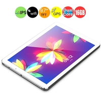 Ramos I9 Intel Atom Z2580 Dual Core Tablet PC 8.9inch IPS Screen Android 4.2 2GB+16GB 500MP Camera Bluetooth WiFi GPS - White