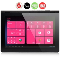 PIPO M8 pro Quad Core 3G Tablet PC w/ RK3188 9.4inch 2GB+16GB Android 4.2 5.0MP Camera HDMI Bluetooth WiFi - Black