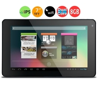 PIPO Smart-S1s Dual Core Tablet PC w/ RK3066 1.6GHz 7.0inch IPS Screen 1GB+8GB HDMI WiFi OTG - Black
