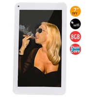 CHUWI V17 Pro Dual Core Tablet PC w/ RK3026 1.0GHz 7.0 Inch 512MB+8GB Dual Cameras Android 4.2 WiFi - White