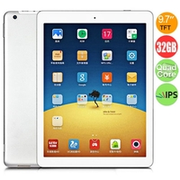 ONDA V975m Quad Core Tablet PC w/ Amlogic M802 2.0GHz 9.7 Inch Retina IPS Screen 2GB+32GB 5.0MP Camera HDMI OTG - Silver