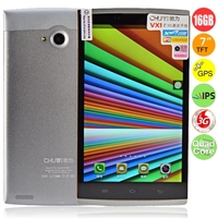 CHUWI VX1 Quad Core 3G Phone Tablet PC w/ MTK8382 7.0 Inch IPS Screen 1GB+16GB Dual SIM GPS HDMI - Silver