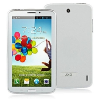 JXD P1000m Dual Core 2G GSM Phone Tablet PC MTK6572 7 Inch Dual SIM 512MB+256MB GPS - White