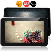 Freelander PH20 Tablet PC Allwinner A13 7.0 Inch 512MB+4GB WiFi Front Camera - Black