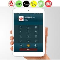 Vido M3C Quad Core 3G Phone Tablet PC w/ MTK8382 7.85 Inch IPS Screen 1GB+16GB Dual SIM WiFi - White