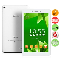 Teclast G17H Quad Core 3G Phone Tablet PC MTK8382 7.0 Inch IPS Screen 1GB+8GB GPS - White