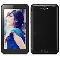 Freelander PD10C 2G Phone Tablet PC w/ MTK8312 Dual Core 7.0 Inch 512MB+4GB Dual SIM GPS - Black