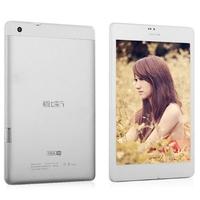 Cube Talk79S U55GTS 3G Phone Tablet PC w/ MTK8312 Dual Core 7.9 Inch 1GB+4GB GPS - White + Silver