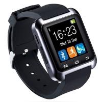 Smart Watch U80 Bluetooth Call Message Reminder Sleep Monitor  -  BLACK/WHITE