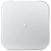 Original XiaoMi Bluetooth V4.0 Mi Smart Weight Scale by 4 x AA Battery  -  WHITE