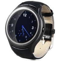 K8 Mini 3G Smart watch - Android 4.4 MTK6572 Dual Core 512MB RAM Round Face 4GB ROM Heart Rate Monitor Pedometer GPS WiFi Bluetooth 4.0