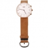 Elephone W2 Smart Watch Classic  -  BROWN AND GOLDEN/SILVER AND BROWN