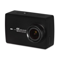 Original YI II International Version - WiFi 4K Sports Action Camera 155 Degrees Wide Angle IMX377 Sensor 2.19 inch Touch Screen F2.8 Aperture