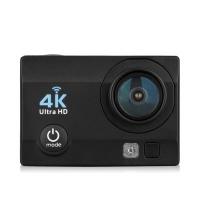 Q6 WiFi 4K Ultra HD Action Sport Camera - 16M 2.0 inch OV4689 Sensor 170 Degree FOV 4X Zoom EU Plug