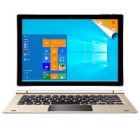 Teclast Tbook 10 S 2 in 1 Tablet PC - 10.1 inch Windows 10 + Android 5.1 Intel Cherry Trail X5 Z8350 64bit Quad Core 1.44GHz 4GB RAM 64GB ROM IPS Screen Bluetooth 4.0 2.0MP Camera
