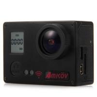 Amkov AMK7000S Action Camera - Sunplus 6350M SPCA6350 / OV4689 Image Sensor / 2 inches TFT / 170 Degree View Angle / Remote Control Watch