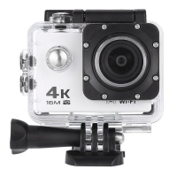 V3 4K WiFi Sport Camera 16MP - 170 Degree FOV 2 inch LCD Screen Allwinner V3 Chipset IMX179 CMOS Sensor Max 64G TF Card