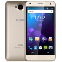 UHANS H5000 Smartphone - Android 6.0 5.0 inch Gorilla Glass 4 Screen MTK6737 1.3GHz Quad Core 3GB RAM 32GB ROM Dual Cameras 4500mAh Battary GPS Gesture Sensor