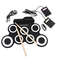 Детский электронный барабан Roll up drum Kit