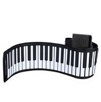 Детское электронное пианино Roll up piano