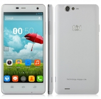ThL Ultrphone 4400 Quad Core 3G Smartphone w/ MTK6582 5.0 Inch HD Gorilla Glass 1GB+4GB 4400mAh Smart Wake OTG - White