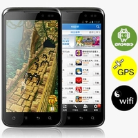 K-Touch V9 CPU Nvidia Tegra3 Quad-core 1.5GHz Android 4.0 4GB+1GB 3G Wi-Fi 5MP GPS 4.5 inch 960*540 Screen Smart Phone-Black