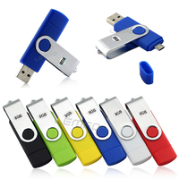 Micro USB Two Port Pen Drive 2G 4G 8G 16G 32G OTG Smartphone PC Electronic