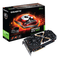 Gigabyte GeForce GTX 1080 Xtreme Gaming Premium Pack - GB GDDR5X, 256bit, 1759/10206, DVI, 3 x HDMI, 3 x Display Port