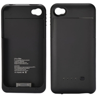 1900mAh Rechargeable Power Charger Battery Case for iPhone 4S/iPhone 4 Black