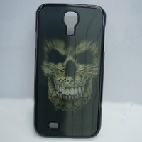 3D Wicked Skull Head Patterned Protective Back Case Cover for Samsung Galaxy S4 i9500
