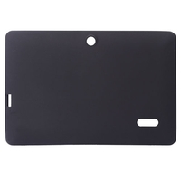 Soft Silicone Protective Case Cover for Q88 7inch Tablet PC - Black