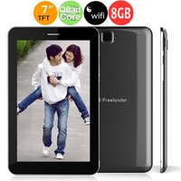 """Freelander PX2 7.0"""" 5-Point Capacitive Touch Screen Quad Core 1GB+8GB Android 4.2 Dual Cameras Wi-Fi Tablet PC - Black"""