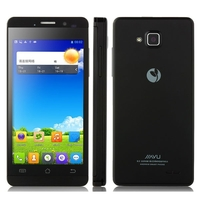 JIAYU G3C Quad Core 3G Smartphone w/ MTK6582 4.5 Inch IPS Screen 1GB+4GB Dual SIM 3000mAh Battery GPS WiFi - Black