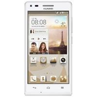 HUAWEI G6-U00 Quad Core 3G Smartphone w/ MSM8212 4.5 Inch IPS Screen 1GB+4GB Dual SIM 8.0MP Camera WiFi GPS - White