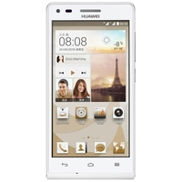 HUAWEI G6-U00 Quad Core 3G Smartphone w/ MSM8212 4.5 Inch IPS Screen 1GB+4GB Dual SIM 8.0MP Camera WiFi GPS - White