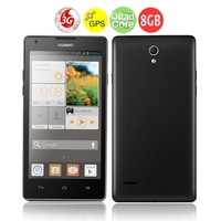 HUAWEI G700 Quad Core 3G Smartphone MTK6589 5.0 Inch IPS Screen 2GB+8GB Dual SIM GPS WiFi - Black