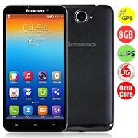 Lenovo S939 Octa Core 3G Smartphone MTK6592 6.0 Inch HD IPS Screen 1GB+8GB GPS - Black