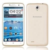 Lenovo A850 Quad Core 3G Smartphone w/ MT6582m 5.5inch IPS Screen 1GB+4GB 5MP Camera WiFi GPS - Golden