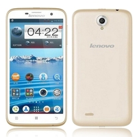 Lenovo A850 Quad Core 3G Smartphone w/ MT6582m 5.5inch IPS Screen 1GB+4GB 5MP Camera WiFi GPS - Golden