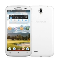 Lenovo A850i Quad Core 3G Smartphone MTK6582 5.5 Inch IPS Screen 1GB+8GB Dual SIM GPS WiFi - White