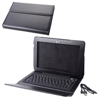 "Replacement Bluetooth Keyboard Case Specially Designed for Galaxy Tab 10.1"" Black"