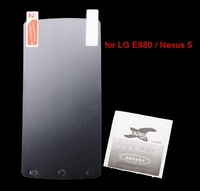 Protective PET LCD Screen Protector Guard Film for LG E980 / Nexus 5 - Transparent