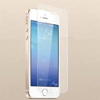 Premium Tempered Glass Film Screen Protector Screen Guard for iPhone 5 - Transparent
