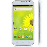 DOOGEE DG500C Quad Core 3G Smartphone w/ MTK6582 5.0 Inch 1GB+4GB Dual SIM GPS OTG WiFi - White