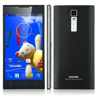 DOOGEE TURBO DG2014 Quad Core 3G Smartphone MTK6582 5.0 Inch OGS Screen 1GB+8GB Dual SIM GPS WiFi - Black