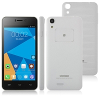 DOOGEE VALENCIA DG800 Quad Core 3G Smartphone MTK6582 4.5 Inch 1GB+8GB OTG GPS - White